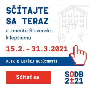 Sčítanie obyvateľov, domov a bytov 2021